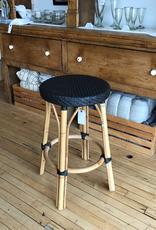 Sika-Design Simone Rattan Counter Stool - Black