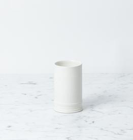John Julian John Julian Hand Thrown Vase - Tiny - Half Glaze - 4.5 in