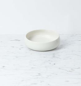 "John Julian John Julian Plain Porcelain Simple Flat Bowl - 5 1/2"""