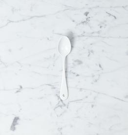 White Enamel Tea Spoon