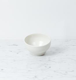 "John Julian John Julian Plain Porcelain Simple Bowl - Small - 4 1/4"""