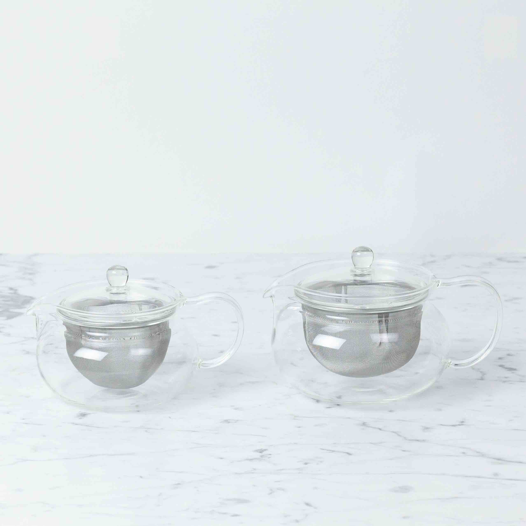 Glass Kyusu Teapot with Infuser - Small -15oz