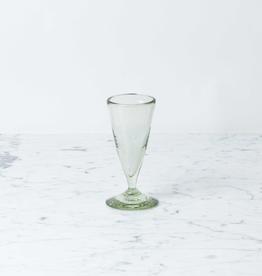 Handblown Cone Port Glass