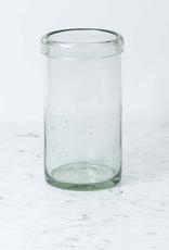 Recycled Glass Cylinder Vase - Large