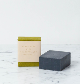 Saipua Handmade Saipua Soap - Black Charcoal with Patchouli