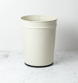 Bunbuku Waste Basket - Large - Ivory - 10.77 x 13.5