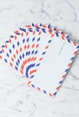 Airmail Envelopes -Set of 10 - 4 x 7.5