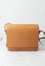 Ruitertassen Natural Leather Shoulder Bag