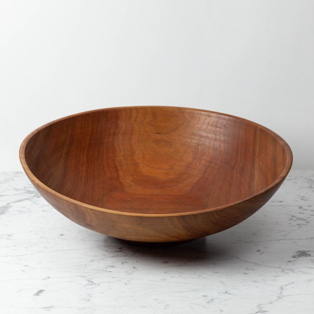 Nordic WoodenWare Nordic Woodenware Hand Turned Bowl Cherry - XXL - Over 20D
