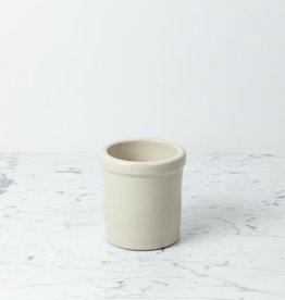 Bristol Stoneware Pickling Crock - Cream - 1 quart