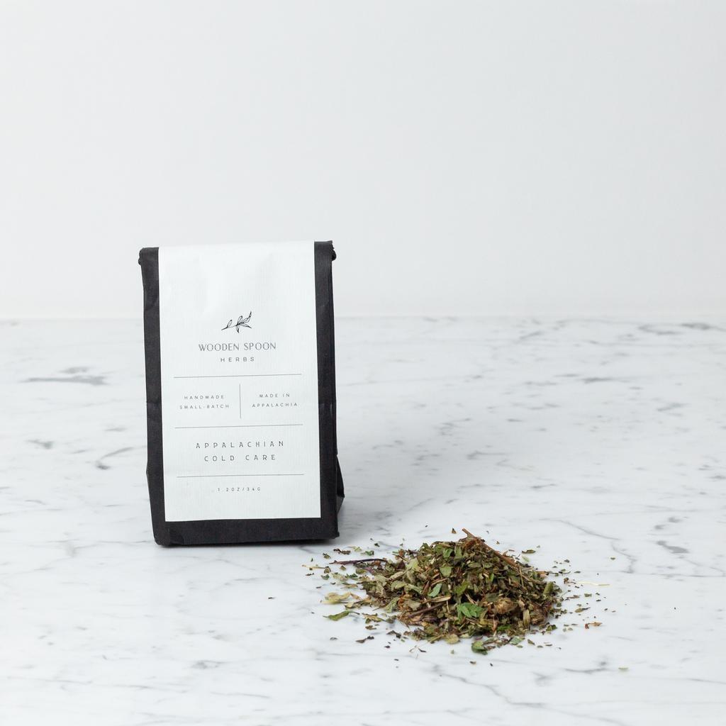 Wooden Spoon Herbs Appalachian Cold Care Tisane Loose Leaf Tea