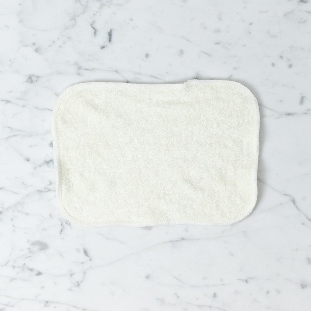 Organic Bamboo Cloth Wipes or Washcloths - 8 x 6.5 in