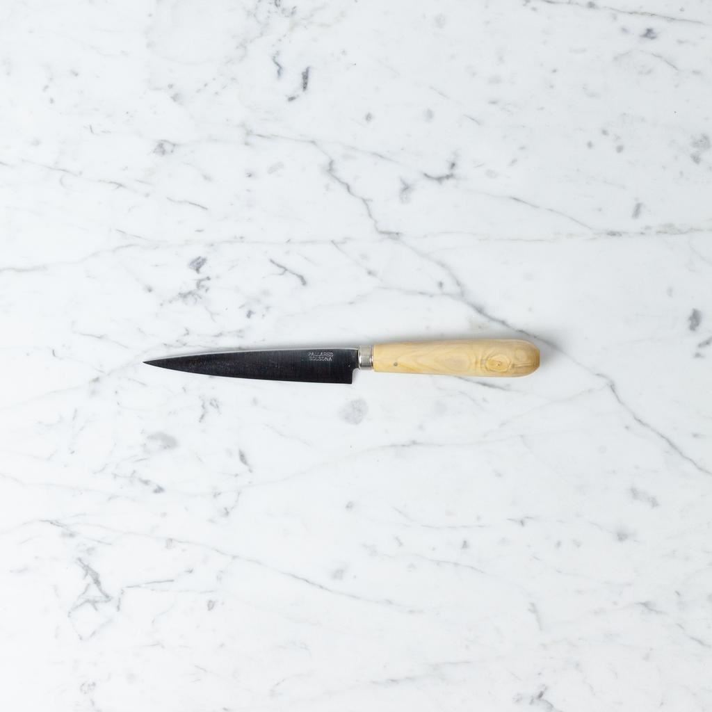 Pallares Knives Pallares Pointed Knife - Carbon Steel - Boxwood Handle - 12 cm