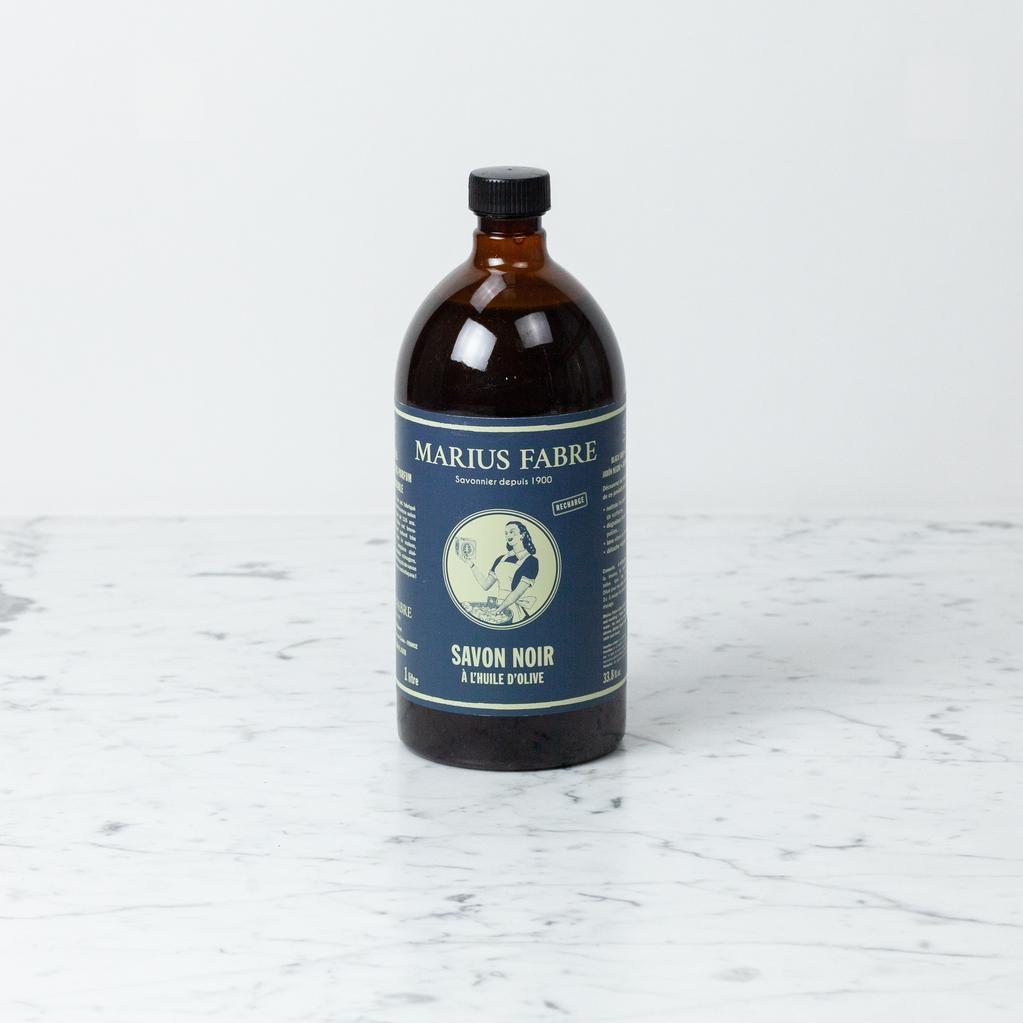 Marius Fabre Marius Fabre Cauldron Cooked Olive Oil Black Liquid All Purpose Cleaning Soap - 1L