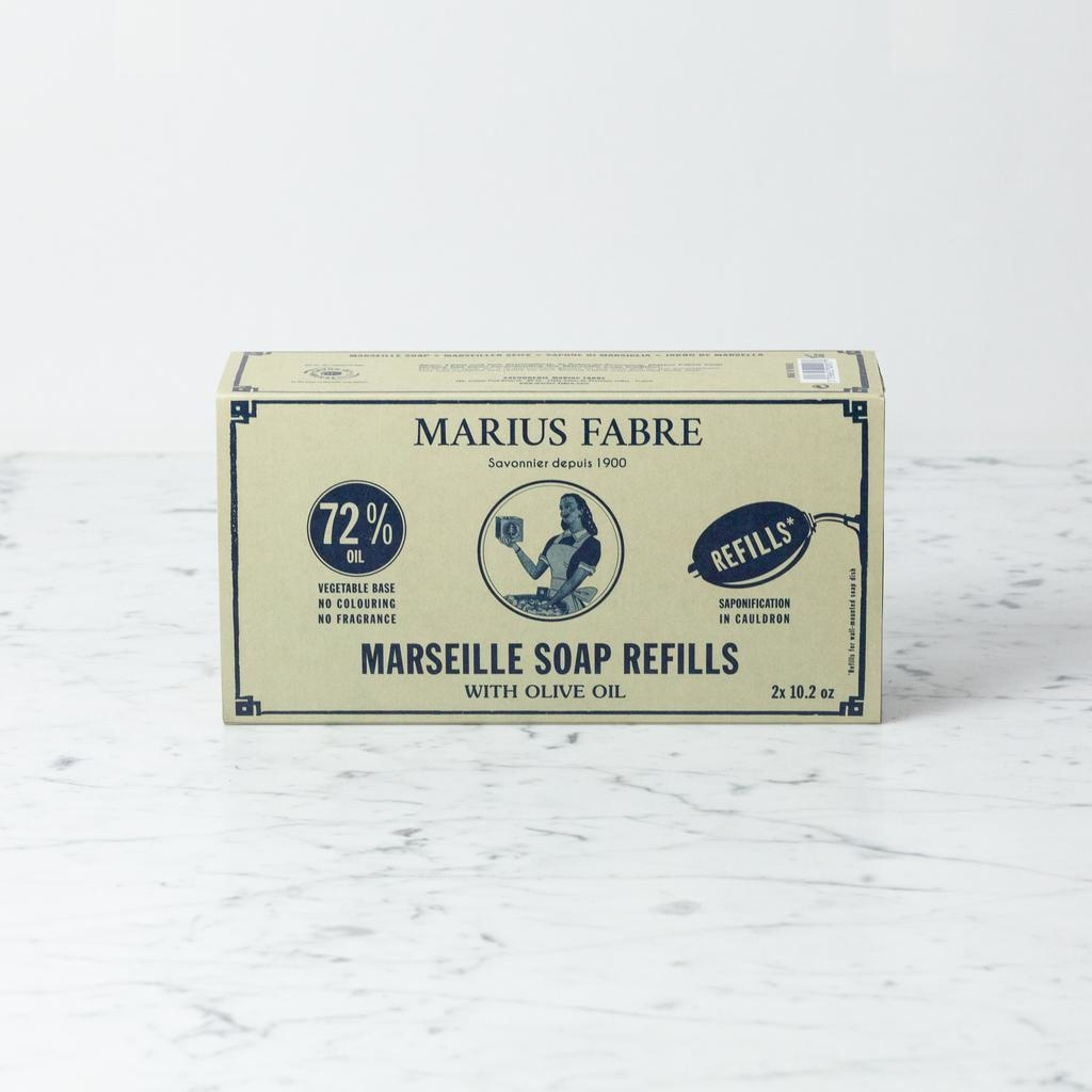 Marius Fabre Marseille Cauldron Cooked Wall Hanging Hand Soap Refills - Pack of 2