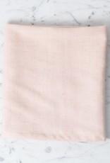 TENSIRA Handwoven Cotton Kitchen Towel - Pale Pink - 20 x 28 in
