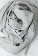 Farmhouse Pottery Farmhouse Linen Scarf - Stone Grey