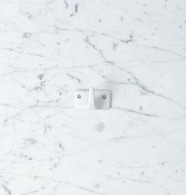 Hook Porcelain - White - Single