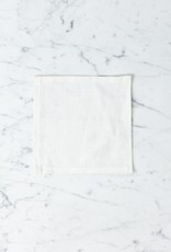 Lakeshore Linen Cocktail Napkin - White - 6 x 6 in.