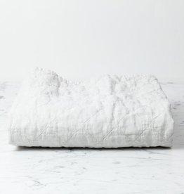 """Matteo Home Ida Vintage Linen Baby Comforter - Greige - 36"""" x 50"""""""