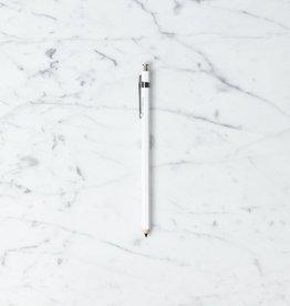 Delfonics Wood Mechanical Pencil - White .5mm