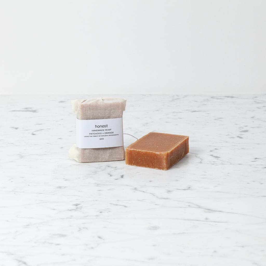 Honest Skincare Honest Patchouli + Orange Soap