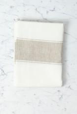 Belgian Linen Ajaccio Tea Towel - Natural