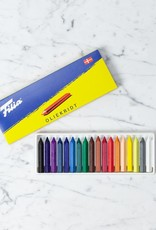Mercurius Filia Danish Oil Pastel Crayons - Set of 18