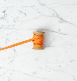 Angela Liguori Italian Cotton Ribbon - Melon - 1/4 in Width - Sold Per Yard