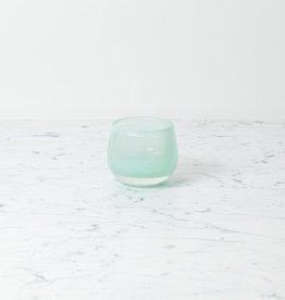 "Henry Dean Tiny Clovis Vessel - Discret - Cloudy Aqua - 3 1/2"""