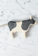 Ostheimer Toys Classic Black and White Dairy Cow Standing