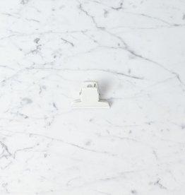 Clip - White - 7cm