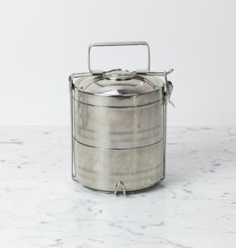 Stainless Steel Tiffin Food Storage Container - 2 Layer
