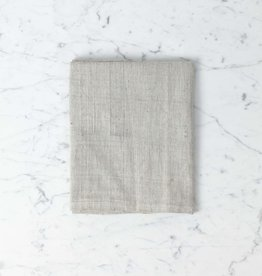 TENSIRA Handwoven Cotton Kitchen Towel - Pale Grey - 20 x 28 in
