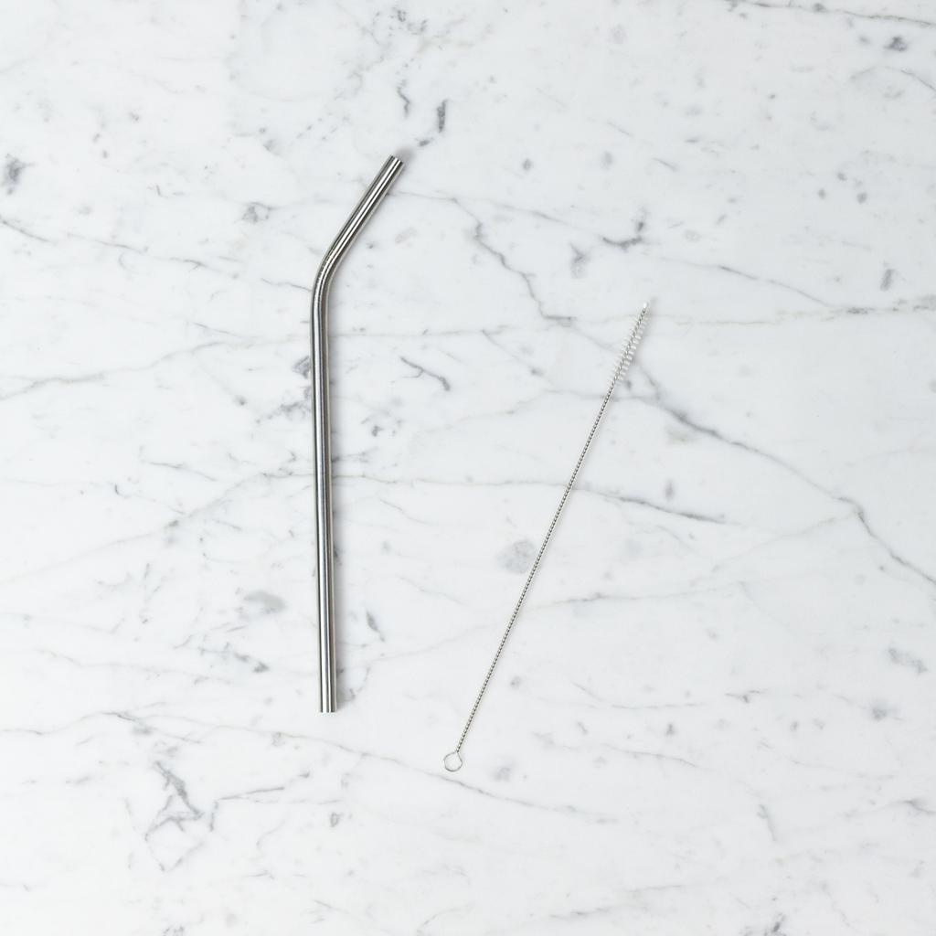 Reusable Stainless Steel Straw - Fat Smoothie Straw