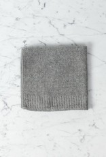 Japanese Cotton Lana Grey Guest Towel