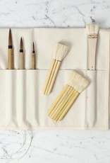 C2F Natural Canvas Brush Roll Up