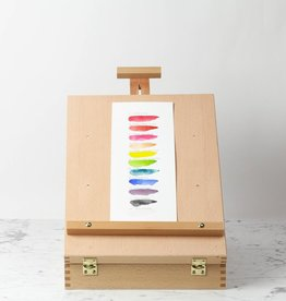 C2F Wooden Carry All Easel Box - 13 x 17 inch