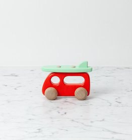 Bajo Toys Rolling Wooden VW with Surfboard