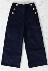 Mabo Kids Remy Sailor Pants - Navy - 2/3 Year