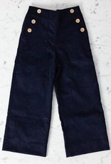 Mabo Kids Remy Sailor Pants - Navy - 4/5 Year