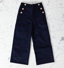 Mabo Kids Remy Sailor Pants - Navy - 4/5 Year