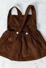 Mabo Kids Annie Pinafore - Tapenade Corduroy - 12 Month