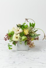 "Foundry Floral Bouquets - Various Colors and Styles - Medium 3-4"" Vase"