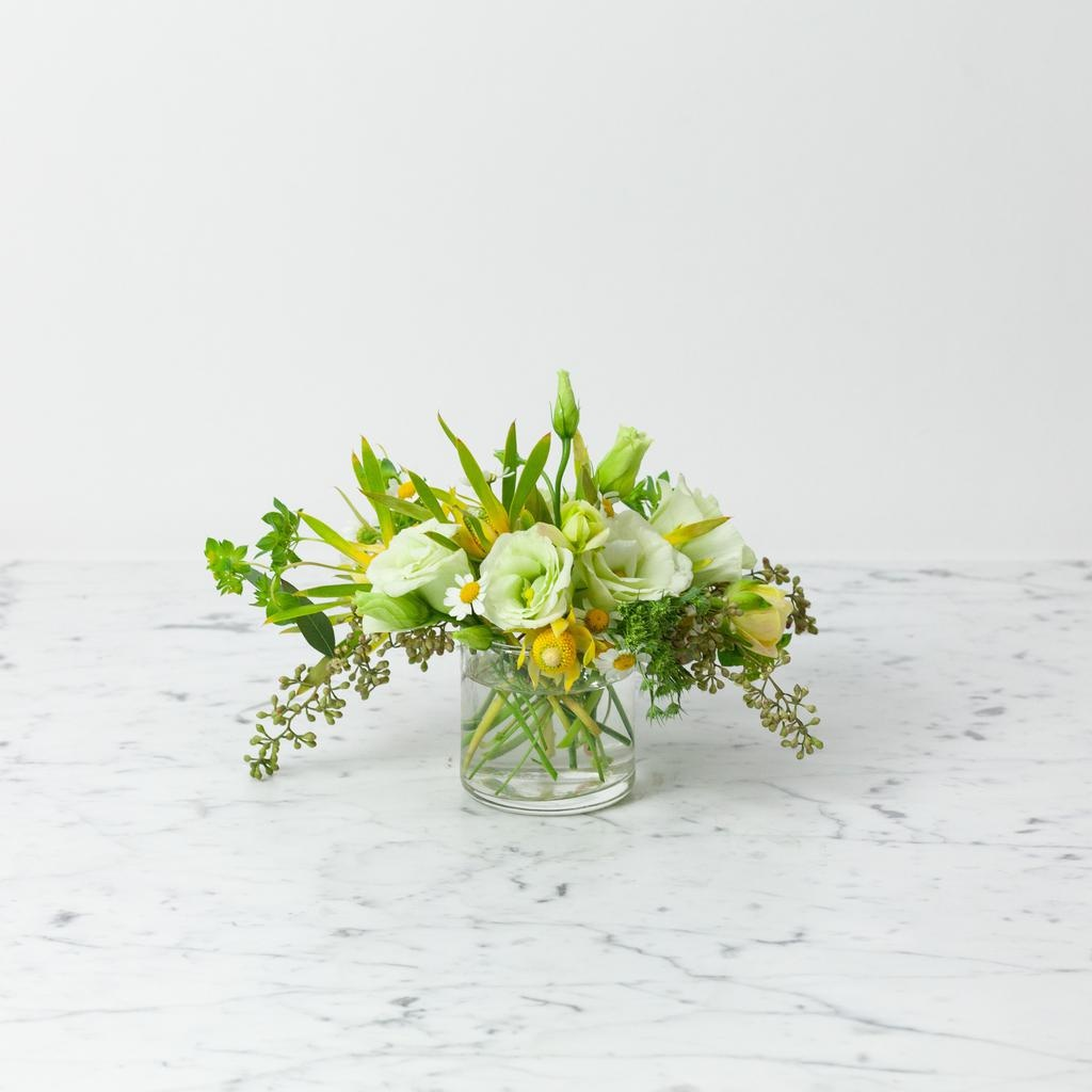 """Foundry Floral Bouquets - Various Colors and Styles - Small 2"""" Vase"""
