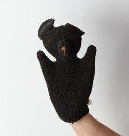 Ouistitine Handmade Puppy Hand Puppet - Brown