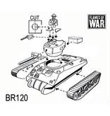 Flames of War BR120 Sherman V
