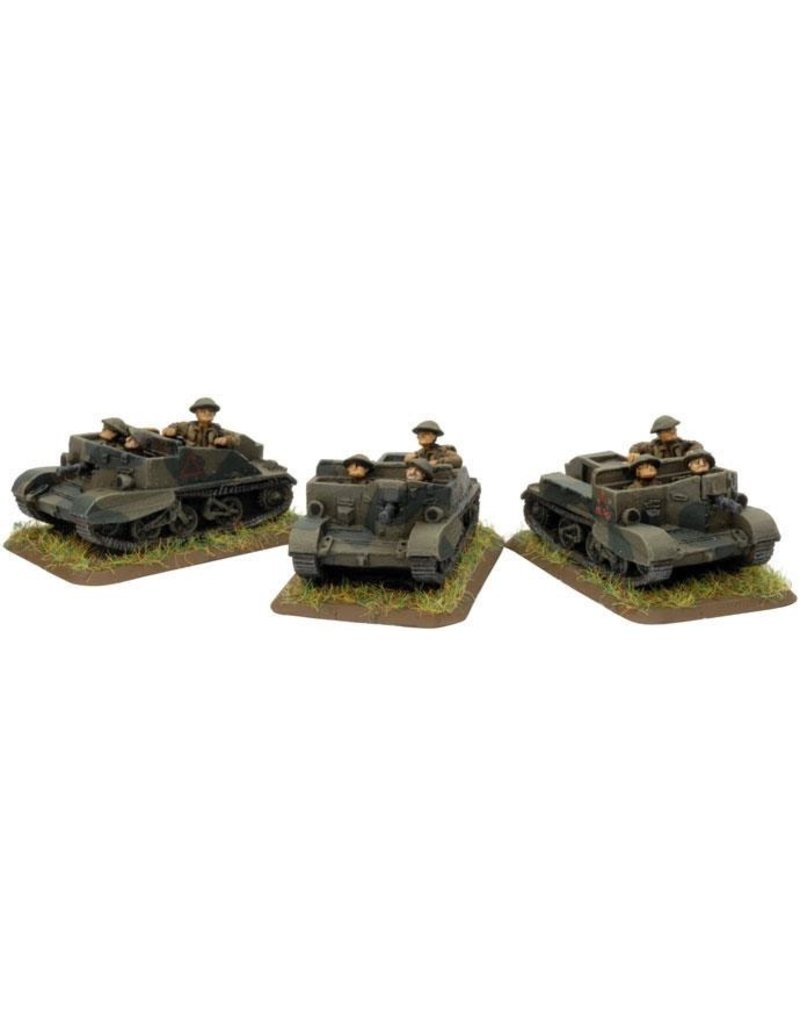 Flames of War BR208 Bren Carrier Platoon