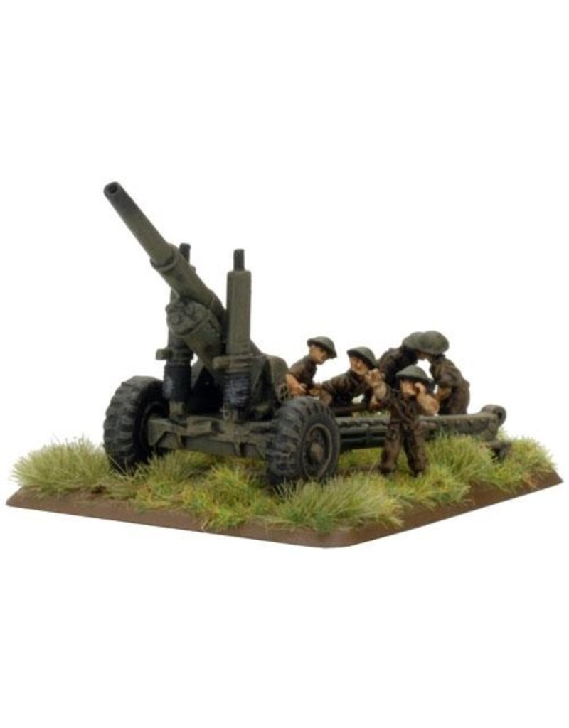 """Flames of War BR580 BL 5.5"""" gun"""