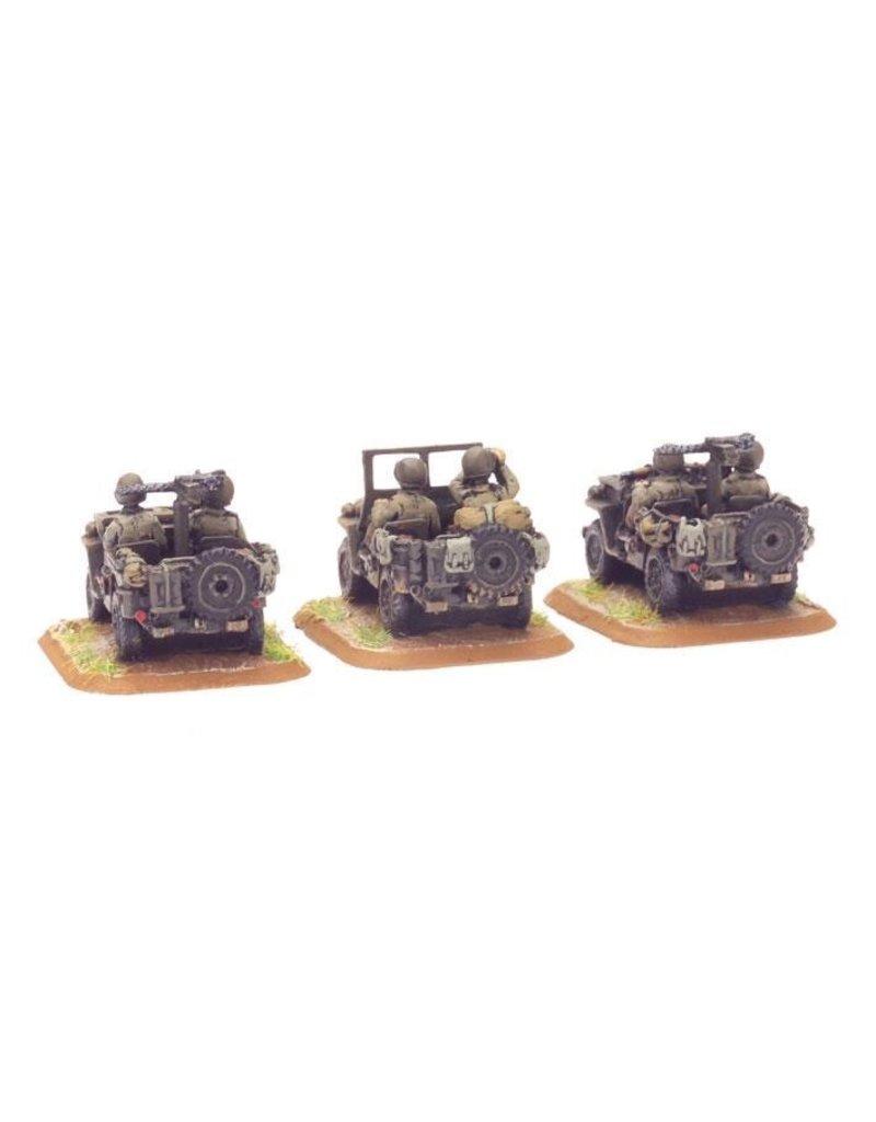 Flames of War US411 Jeep (x3)